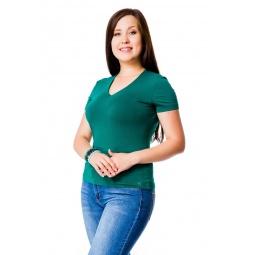 фото Футболка Mondigo XL 056. Цвет: темно-зеленый. Размер одежды: 52