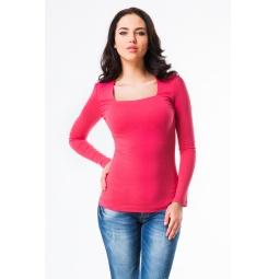 фото Кофта Mondigo 7014. Цвет: ярко-розовый. Размер одежды: 46