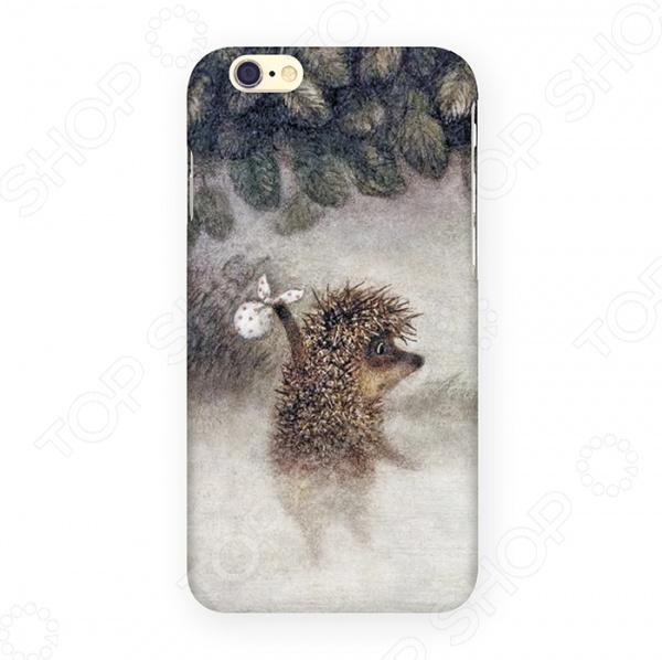 Чехол для iPhone 6 Mitya Veselkov «Ежик в молочном тумане»