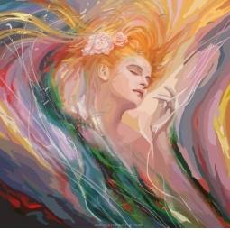 фото Набор для раскрашивания по номерам Белоснежка «Необузданная красота»