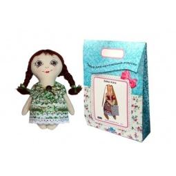 Купить Подарочный набор для изготовления текстильной игрушки Кустарь «Любочка»