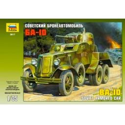 фото Сборная модель Звезда советский бронеавтомобиль БА-10