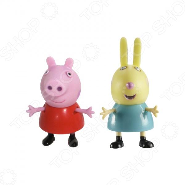 Набор из двух мини-фигурок Росмэн «Пеппа и Ребекка» росмэн веселые гармошки загадки про игрушки