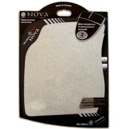 фото Коврик для мыши Nova Microptic+PRO. Цвет: серебристый