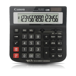 Купить Калькулятор Canon WS-260 TC