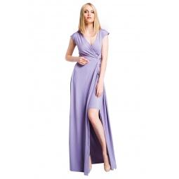фото Платье Mondigo 6086. Цвет: сиреневый. Размер одежды: 46