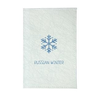 Купить Обложка для паспорта Mitya Veselkov «Русская зима - Снежинка»
