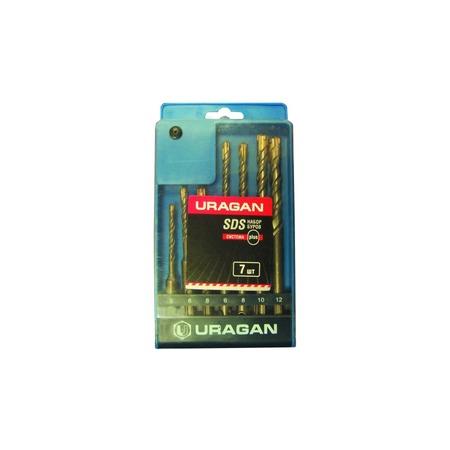 Купить Набор буров по бетону URAGAN 901-25554-H7