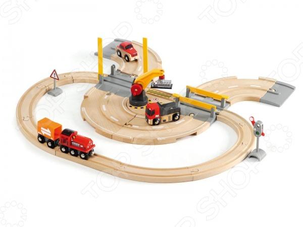 Железная дорога Brio «Переезд»