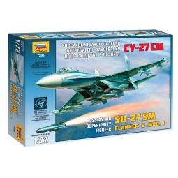 фото Сборная модель самолета Звезда «Су-27СM»