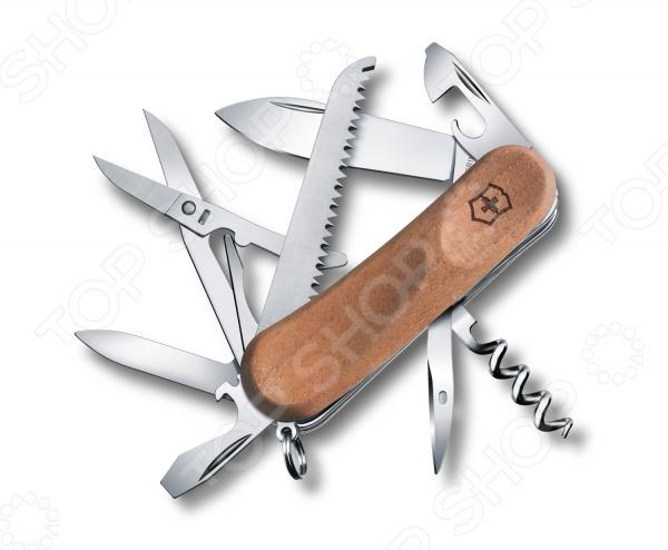 Нож перочинный Victorinox EvoWood 17 2.3911.63 нож перочинный victorinox swisschamp 1 6795 lb1 красный блистер