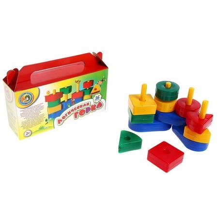 Купить Игра развивающая для малыша Строим вместе «Логическая горка»