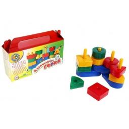 фото Игра развивающая для малыша Строим вместе «Логическая горка»