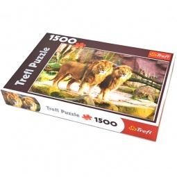 Купить Пазл 1500 элементов Trefl «Львы»