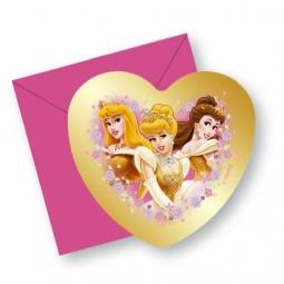 Купить Приглашения в конвертах Procos «Принцессы на балу»