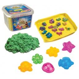 фото Набор для лепки из песка Космический песок. Цвет: зеленый