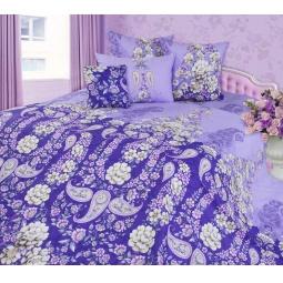 фото Комплект постельного белья Белиссимо «Мадлен». 2-спальный. Цвет: сиреневый