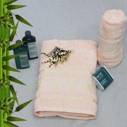 фото Полотенце махровое Mariposa Tropics cream. Размер полотенца: 50х90 см