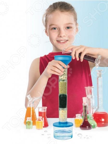 Набор для опытов по очистке воды Bradex «Юный учёный»