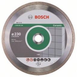 Купить Диск отрезной алмазный для угловых шлифмашин Bosch Professional for Ceramic