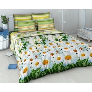 Купить Комплект постельного белья Василиса «Ромашковый вальс». 1,5-спальный
