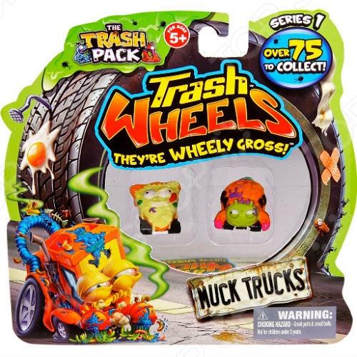 Фигурки Moose Trash Wheels 68139. В ассортименте