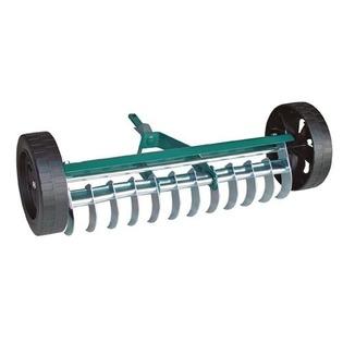Купить Грабли аэраторные на колесах Raco 4230-53843