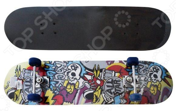 Скейтборд Shantou Gepai Rock скейтборд с какого возраста можно начинать