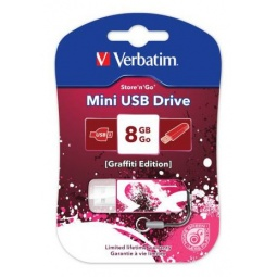 фото Флешка Verbatim Store 'n' Go Mini Graffiti 8Gb