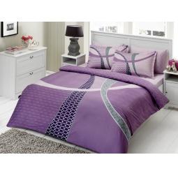 фото Комплект постельного белья TAC Horizon. 1,5-спальный. Цвет: фиолетовый