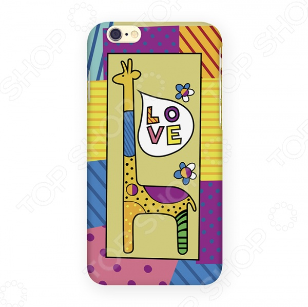 Чехол для iPhone 6 Mitya Veselkov «Жираф» mitya veselkov чехол для iphone 6 скандинавская лошадка