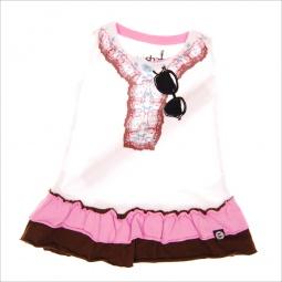фото Платье детское с аппликацией Mini Shatsu Bohemian