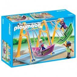 фото Конструктор игровой Playmobil «Парк Развлечений: Аттракцион - Лодка»