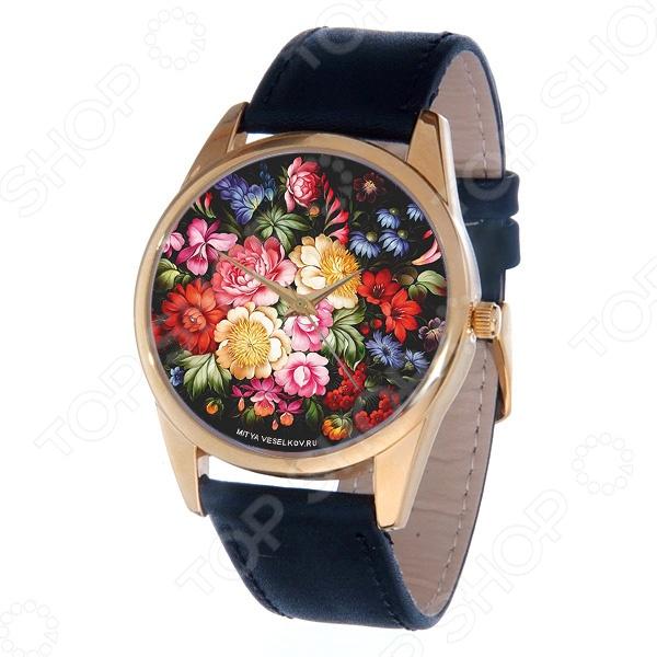 Часы наручные Mitya Veselkov «Жостово-1» Gold часы наручные mitya veselkov now gold