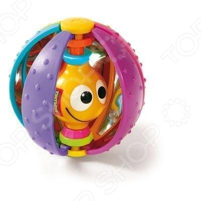 Игрушка развивающая для малыша Tiny love «Волшебный шарик»Другие развивающие игрушки и игры<br>Игрушка развивающая для малыша Tiny love Волшебный шарик обязательно понравится вашему малышу. Рекомендована для детей от 6 месяцев. Внутри шара веселый червячок, который звенит, если потрясти погремушку. Игра с шариком поможет малышу познать мир, а также научиться ориентироваться по часам. Игрушка выполнена из безопасных для детского здоровья материала.<br>