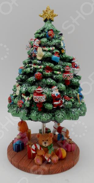 Музыкальная шкатулка Crystal Deco «Рождественская елка»