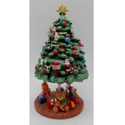 Купить Музыкальная шкатулка Crystal Deco «Рождественская елка»