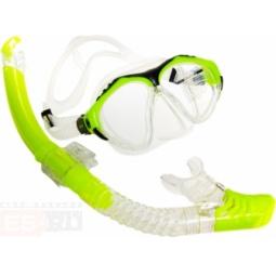 фото Набор из маски и трубки Submarine Shark50. Цвет: желтый