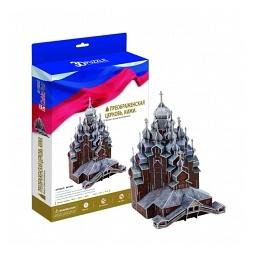 Купить Пазл 3D CubicFun «Преображенская церковь. Кижи»