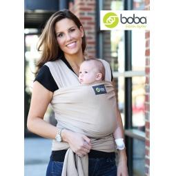 фото Слинг-шарф Boba трикотажный Wrap. Цвет: серый