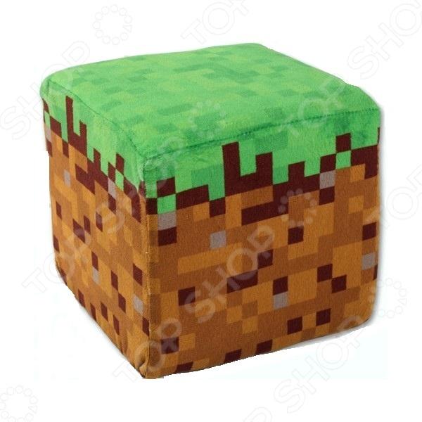 Мягкая игрушка Minecraft Дёрт Блок
