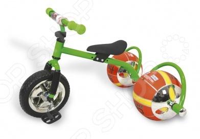 Велосипед с колесами в виде мячей Bradex «Баскетбайк»