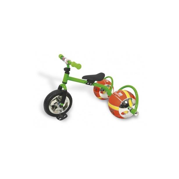 фото Велосипед с колесами в виде мячей Bradex «Баскетбайк». Цвет: зеленый