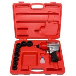 Купить Набор инструмента: пневмогайковерт с ударными головками Force F-6111-1