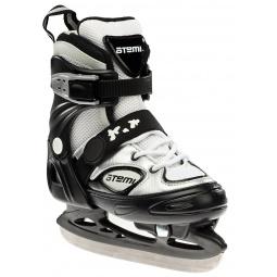 фото Коньки раздвижные с хоккейным лезвием ATEMI ULTRA. Размер: 29-32