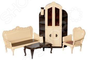Набор мебели игрушечный Огонек для гостиной «Коллекция» для гостиной