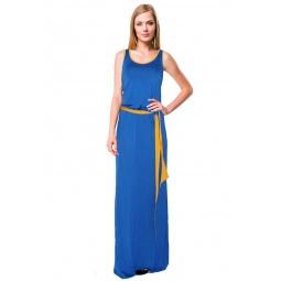 фото Платье Mondigo 7041. Цвет: синий. Размер одежды: 48