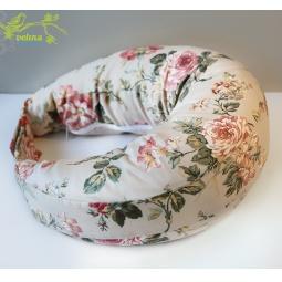 фото Подушка для беременных и кормления Velina на липучке. Рисунок: розы