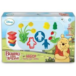 Купить Набор теста для лепки 1 Toy «Winnie the Pooh» Т57455