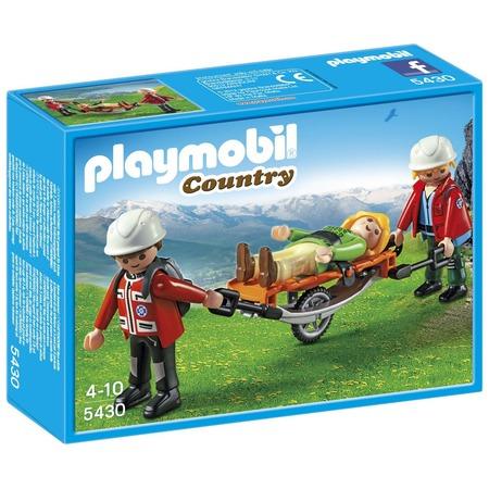 Купить Набор игровой Playmobil «В горах: Спасатель с тросом»